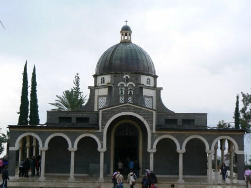 Fotos de la Iglesia del Sermón del Monte - Monte de las Bienaventuranzas - Israel. Foto por martin_javier