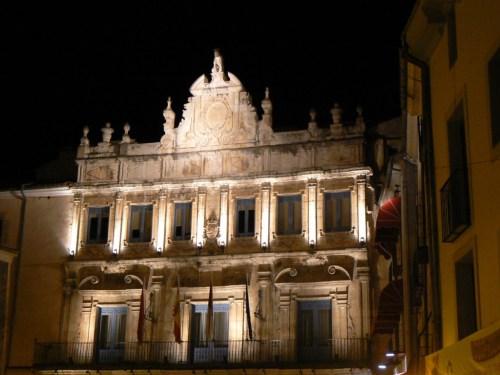 Foto de la Casa consistorial de Cuenca - España. foto por martin_javier