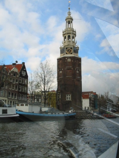 Fotos de la torre de Montelbaanstoren en Amsterdam - Holanda. Foto por martin_javier