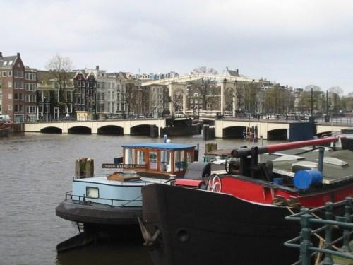 Foto De Magere Brug (el puente flaco) - Amsterdam - Holanda. foto por martin_javier