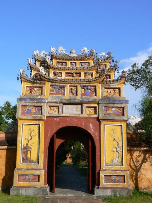 Fotos de la Ciudad imperial: Palacio Thai Hoa - Hue - Vietnam. Foto por dmartin_javier