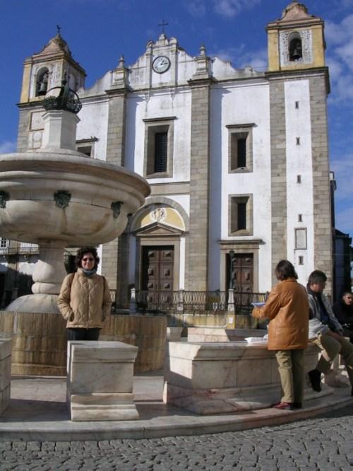 Foto de la Iglesia de Santo Antão en Évora - Portugal . Foto por martin_javier