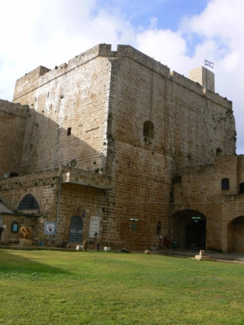 Foto de la ciudadela de Acre (Israel). Foto por martin_javier