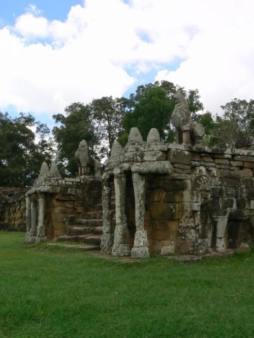 Fotos de la Terraza de los Elefantes en Angkor - Camboya. Foto por martin_javier