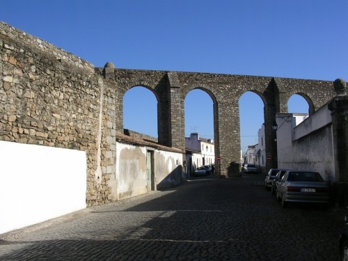 Fotos del Acueducto en Évora - Portugal. Foto por martin_javier