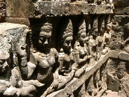 Fotos de la Terraza del Rey Leproso en Angkor - Camboya. Foto por martin_javier