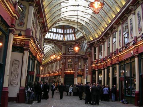 Fotos del Mercado Leadenhall en Londres - Inglaterra. Foto por martin_javier