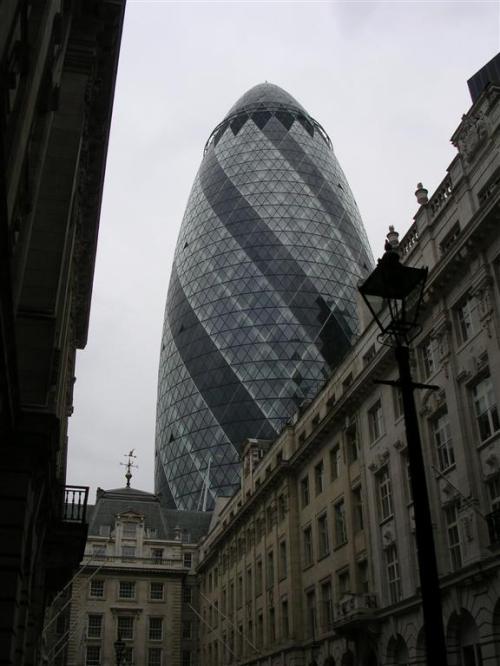 Fotos del edificio 30 St Mary Axe en Londres - Inglaterra. Foto por martin_javier