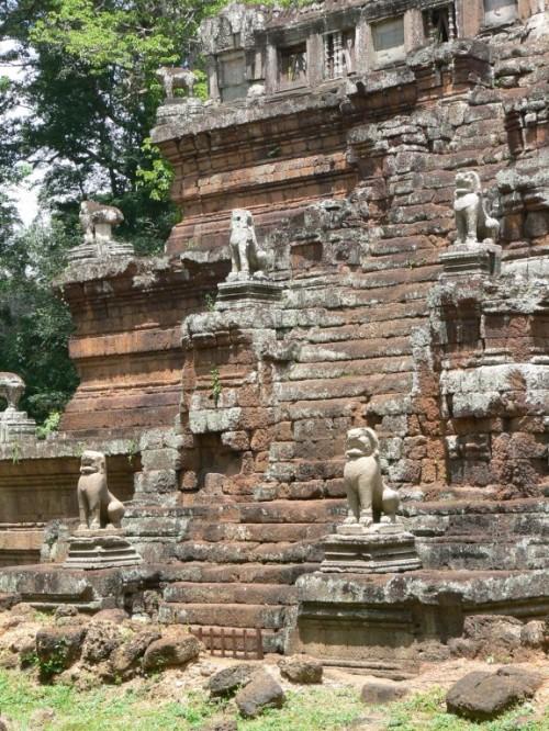 Fotos del Templo Phimeanakas en Angkor – Camboya. Foto por martin_javier