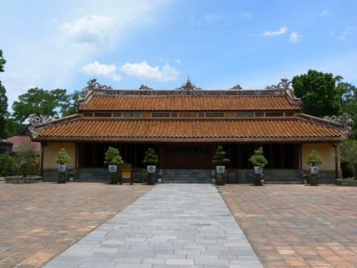 Fotos de la tumba de Minh Mang en Hue - Vietnam. Foto por martin_javier