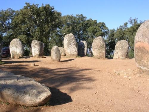 Fotos del Cromlech de los Almendros - Évora - Portugal. Foto por martin_javier