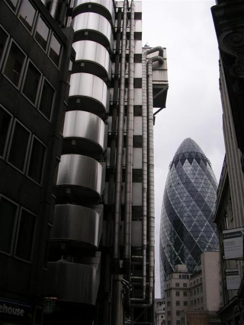Foto del Edificio Lloyd's en Londres - Inglaterra. Foto por martin_javier