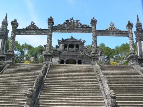 Fotos de la tumba de Khai Dinh en Hue - Vietnam. Foto por martin_javier