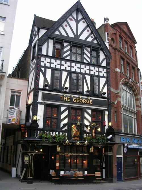Foto de la taverna The George en Londres - Inglaterra. Foto por martin_javier