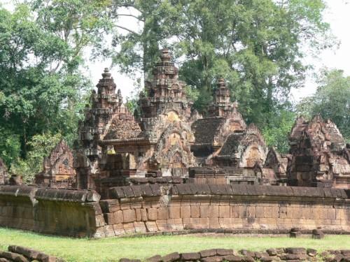 Fotos del Templo de Banteay Srei en Angkor – Camboya. Foto por martin_javier