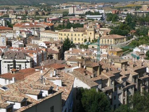 Foto del Hospital Santiago Apóstol en Cuenca - España. Foto por martin_javier