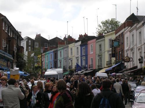 Fotos del Mercado de Portobello en Londres - Inglaterra. Foto por martin_javier
