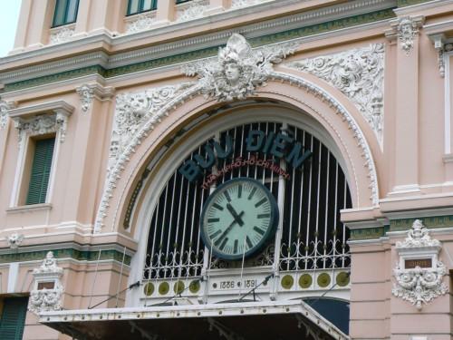 Fotos de la Oficina de Correos en Ho Chi Minh (Saigón) - Vietnam. Foto por martin_javier