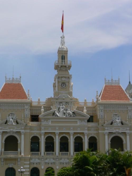 Fotos del Ayuntamiento de la ciudad de Ho Chi Minh - Vietnam. Foto por martin_javier