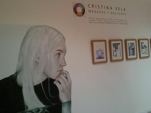 """Fotos de la exposición """"Cristina Vela - Medusas y Ballenas"""" . foto por martin_javier"""