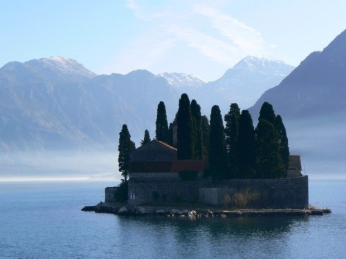 Fotos del Monasterio de San Jorge (isla) - Perast - Bahía de Kotor - Montenegro. Foto por martin_javier