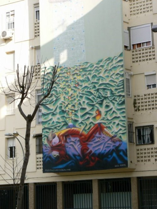 Fotos de Arte para todos: Mural de Iván Fiallos. Foto por martin_javier