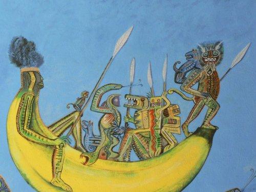 Fotos de Arte para todos: Mural de Nelson Román. Foto por martin_javier