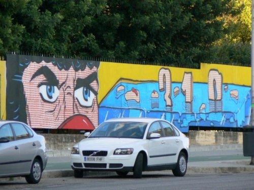 Fotos de Arte para todos: Mural de grupo de arte 310 Stephan Krasnov / Andrey Tseluyko . foto por martin_javier