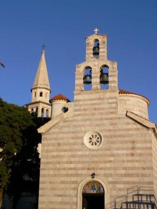 Fotos de la Iglesia ortodoxa de la Santísima Trinidad en Budva - Montenegro. Foto por martin_javier