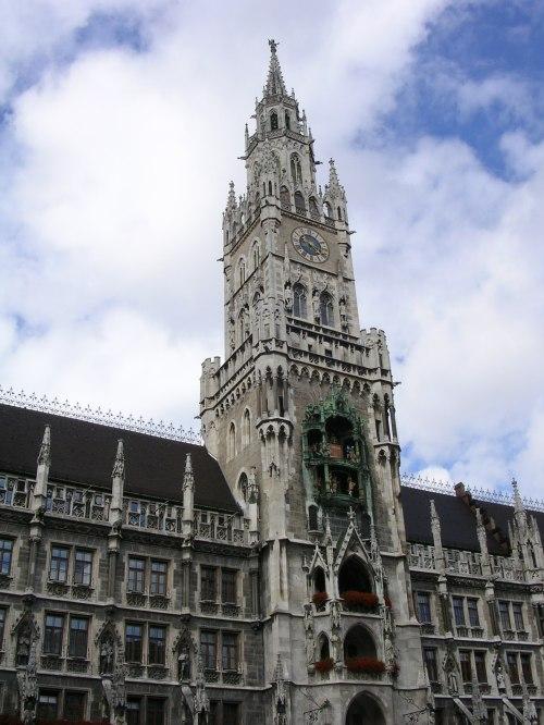 Fotos del Nuevo Ayuntamiento de Múnich - Alemania. Foto por martin_javier