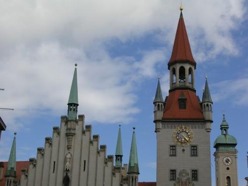 Fotos del Antiguo Ayuntamiento de Múnich - Alemania. Foto por martin_javier