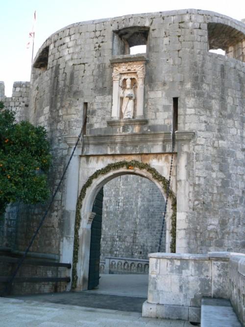 Fotos de la Puerta de Pile de Dubrovnik - Croacia. Foto por martin_javier