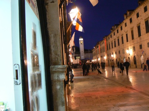 Fotos de la callle La Placa o Stradum de Dubrovnik - Croacia. Foto por martin_javier