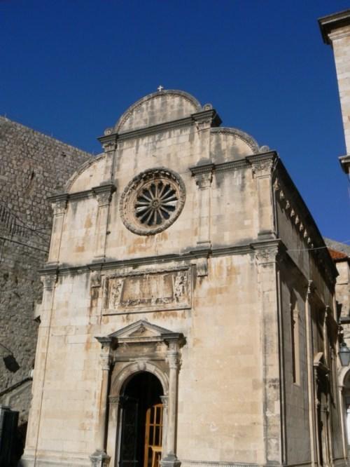 Fotos de la Iglesia de San Saviour de Dubrovnik - Croacia. Foto por martin_javier