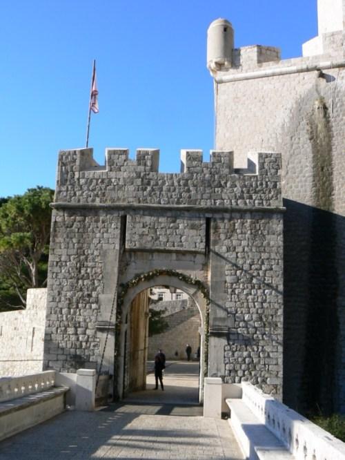 Fotos de la Puerta Ploce de Dubrovnik - Croacia. Foto por martin_javier