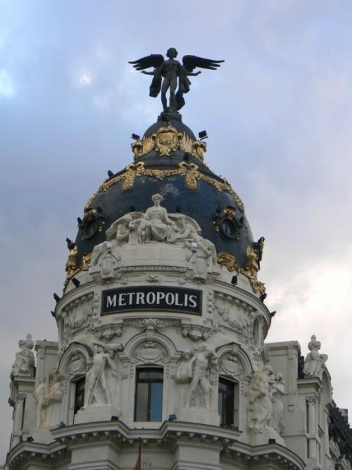 Foto del edificio Metrópolis de Madrid - España. Foto por martin_javier