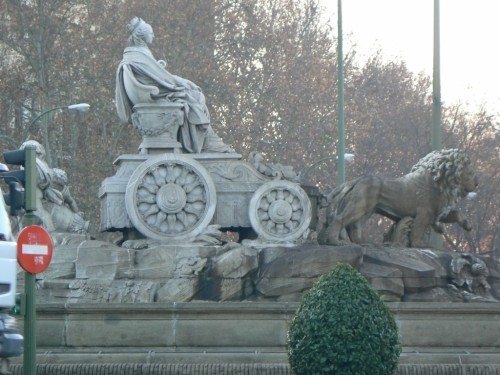 Fotos de la Fuente de Cibeles de Madrid - España. Foto por martin_javier