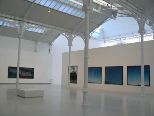 Fotos de la exposición Jean-Luc Mylayne. Trazos del cielo en manos del tiempo en Madrid - España