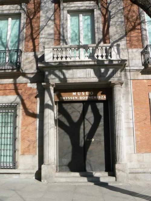 Foto del Palacio de Villahermosa de Madrid - España. Foto por martin_javier
