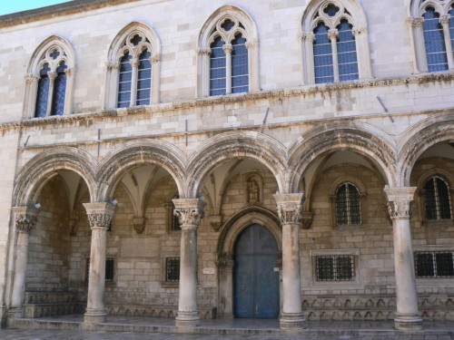 Fotos del Palacio del Rector de Dubrovnik - Croacia. Foto por martin_javier