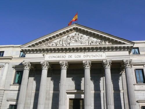Fotos del Palacio de las Cortes de Madrid - España. Foto por martin_javier
