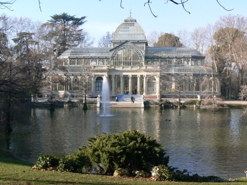 Fotos del Palacio de Cristal del Retiro de Madrid - España. Foto por martin_javier