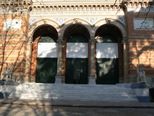 Foto del Palacio de Velázquez de Madrid - España. Foto por martin_javier