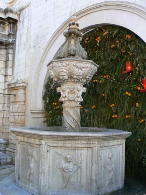 Fotos de la Fuente pequeña de Onofrio de Dubrovnik - Croacia. Foto por martin_javier