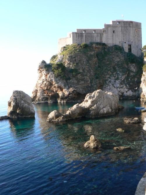 Foto del Fuerte Lovrijenac de Dubrovnik - Croacia. Foto por martin_javier