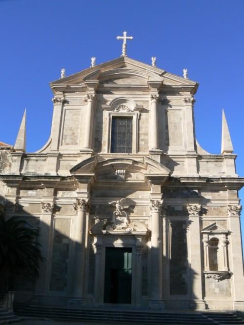 Foto de la Iglesia Jesuíta de San Ignacio de Dubrovnik - Croacia. Foto por martin_javier