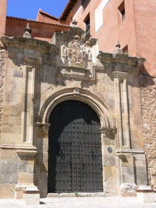 Foto del Palacio Episcopal de Albarracín - España. Foto por martin_javier