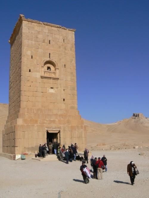Torre funeraria de Elahbel en Palmira. Foto por martin_javier