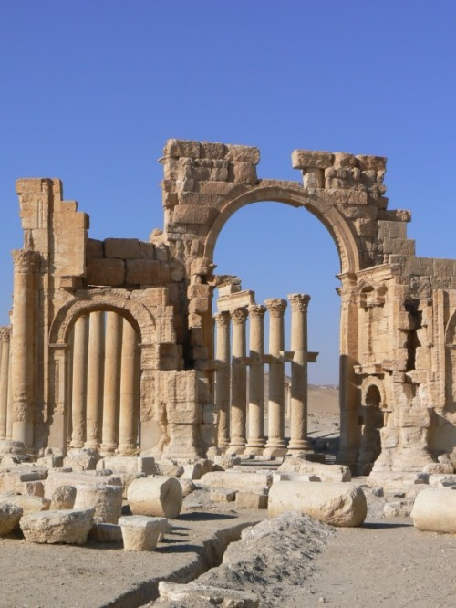 Fotos del Arco del Triunfo de Palmira - Siria. Foto por martin_javier