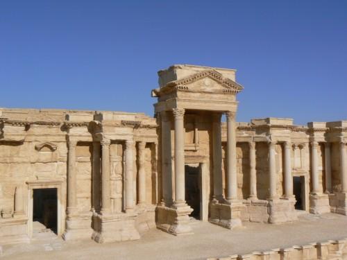 Fotos del Teatro de Palmira - Siria. Foto por martin_javier